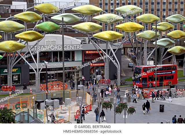 United Kingdown, London, Stratford District, Westfield Stratford center