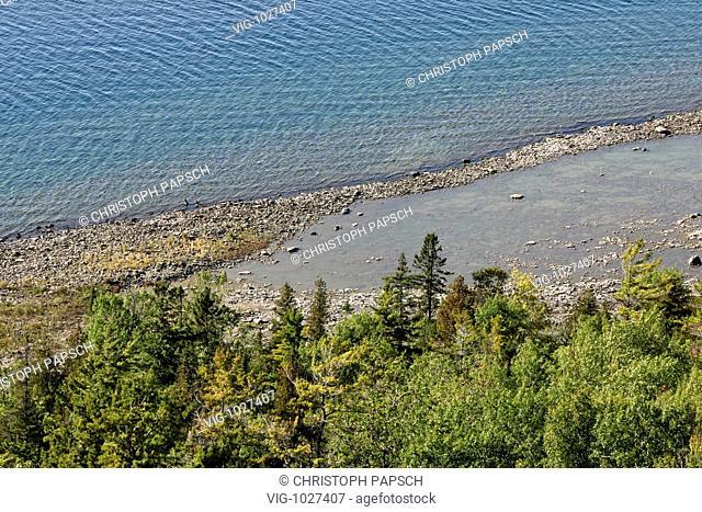 Canada, Ontario, Manitoulin Island. Landscape on Manitoulin Island. - Manitoulin Island, Ontario, Canada, 04/12/2007