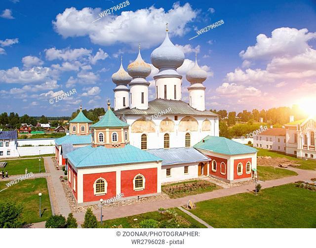 Tikhvin Assumption Monastery, a Russian Orthodox, (Tihvin, Saint Petersburg region, Russia)