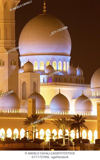 United Arab Emirates  Abu Dhabi  Sheikh Zayed Mosque