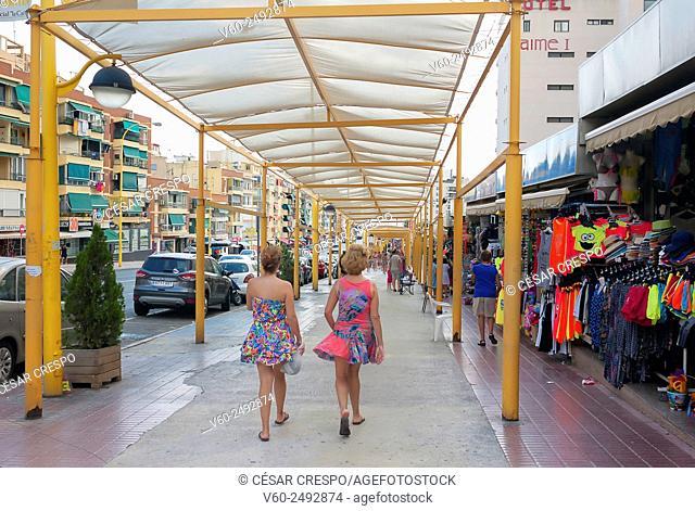 -Streets of Benidorm- Spain
