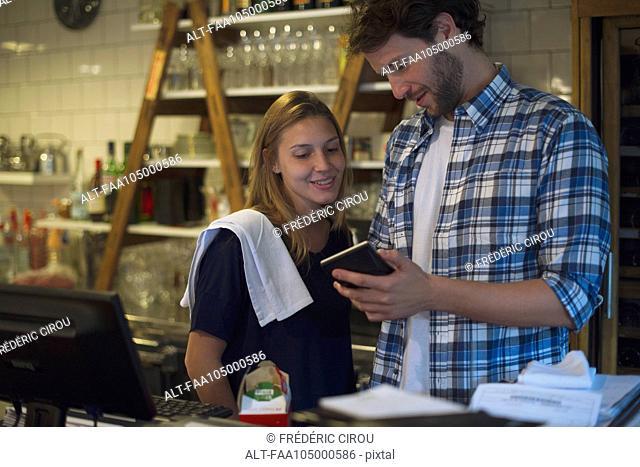 Restaurant employees