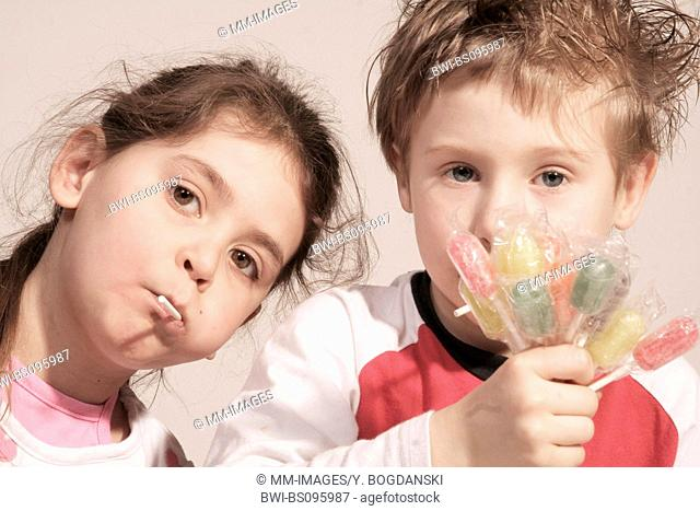 two children, Germany