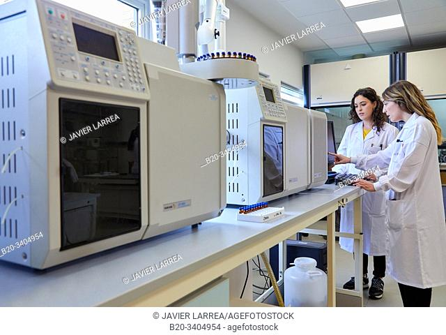 Researcher, Gas and liquid chromatograph, Biotechnology Laboratory, Food industry, Unit of Health, Technology Centre, Tecnalia Research & Innovation, Miñano