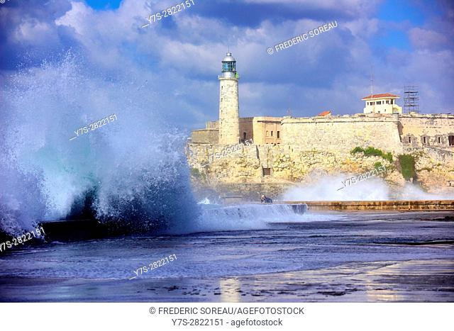 Castillo del Morro, lighthouse, Havana, Cuba