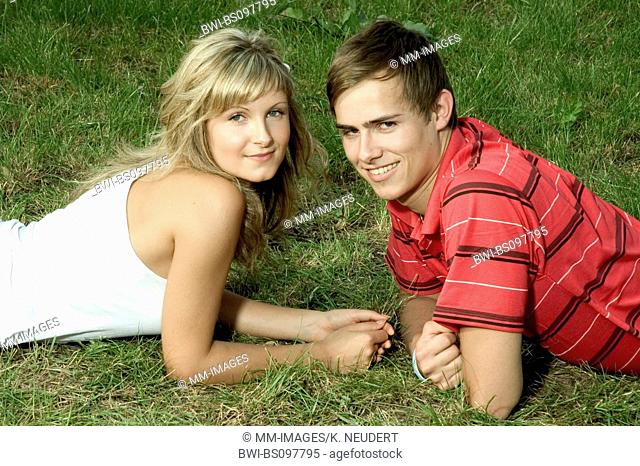 young couple, Germany