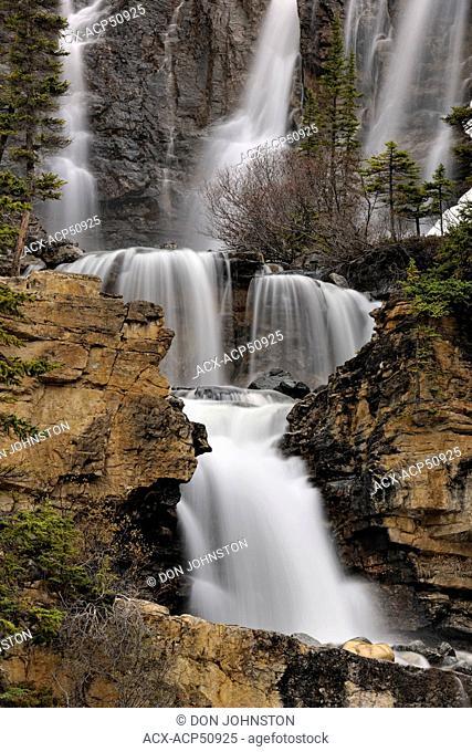 Tangle Creek waterfall, Jasper, Alberta, Canada
