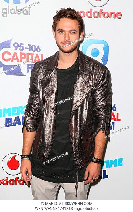 The Capital's Summertime Ball held at the Wembley Stadium - Arrivals Featuring: Zedd Where: London, United Kingdom When: 10 Jun 2017 Credit: Mario Mitsis/WENN
