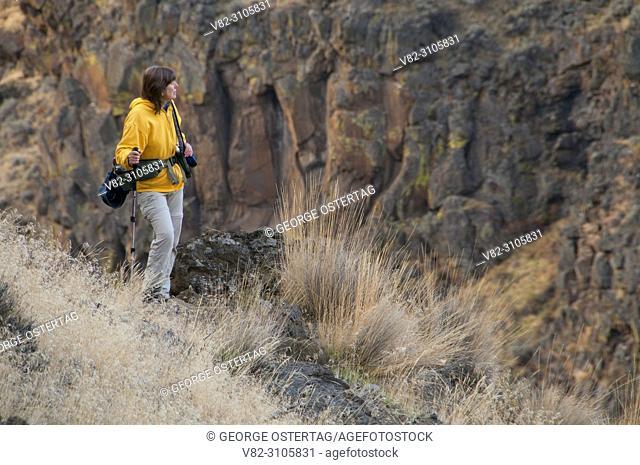 Scout Camp Trail, Steelhead Falls Wilderness Study Area, Deschutes Wild and Scenic River, Prineville District Bureau of Land Management, Oregon