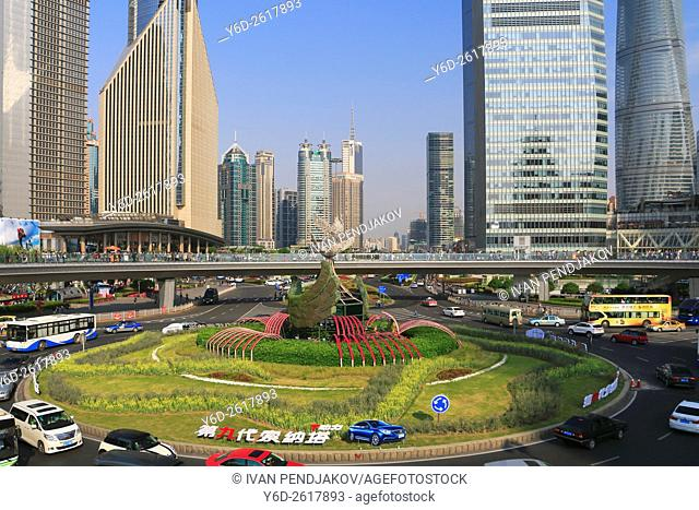 Pudong Business District, Shanghai, China
