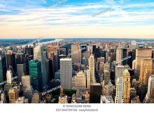 New York City Manhattan midtown