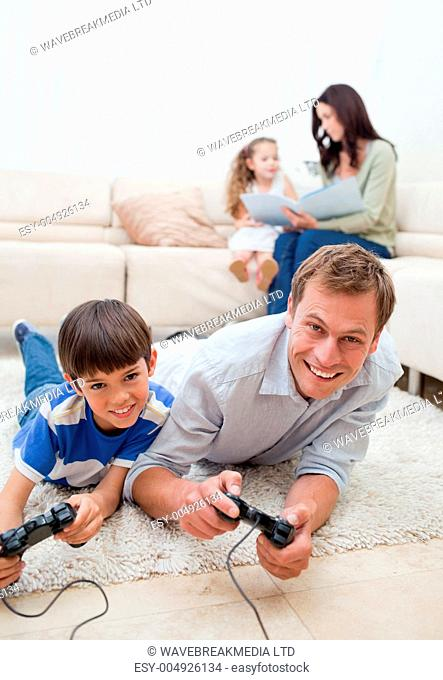 Family enjoys spending their spare time together