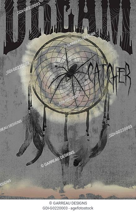 Dream catcher graphic design
