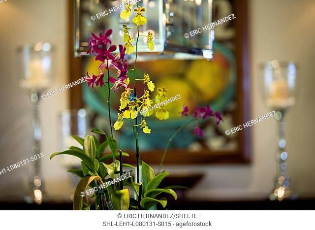Detail flower centerpiece