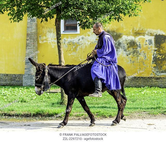 Flamboyant csikos horsemen are the region's cowboys, famed for their horseback tricks.