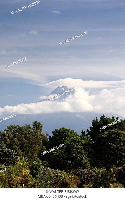 New Zealand, North Island, New Plymouth, Mt. Taranaki