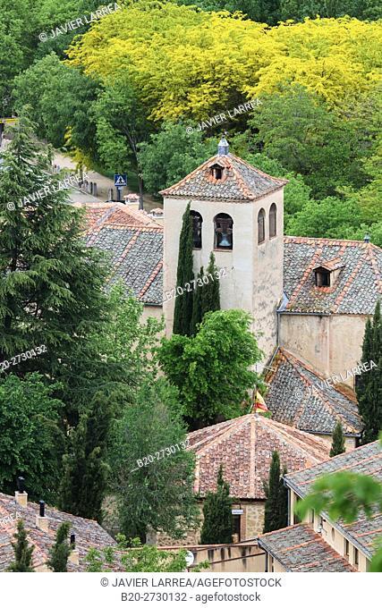Spain, Castile-Leon, Segovia, Church of San Marcos