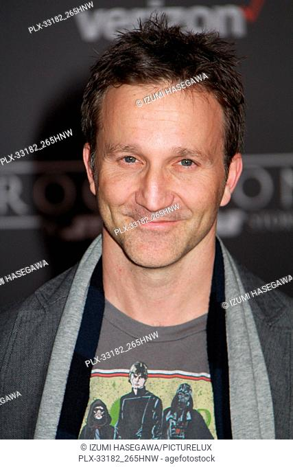 """Breckin Meyer 12/10/2016 The World Premiere of """"""""Rogue One: A Star Wars Story"""""""" held at the Pantages Theatre in Los Angeles"""