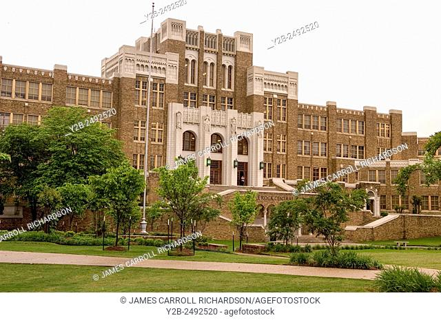 Central High School National Monument in Little Rock, Arkansas, USA