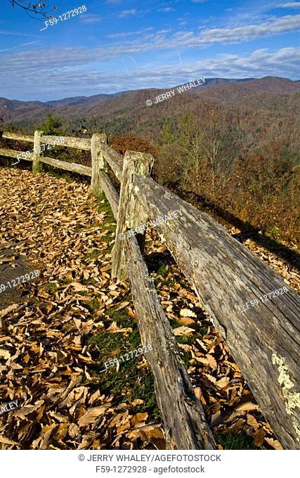 Wooden Fence, , Cataloochee Cove, Great Smoky Mtns NP, North Caroliina
