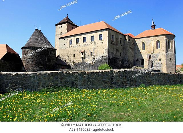 castle of Svihov Czechoslovakia, Sumava, Czech Republic, Europe