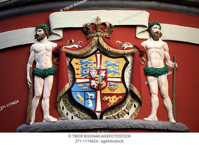 Denmark, Jutland, Arhus, coat of arms