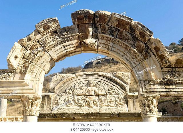 Ephesus, Hadrian Temple, Turkey