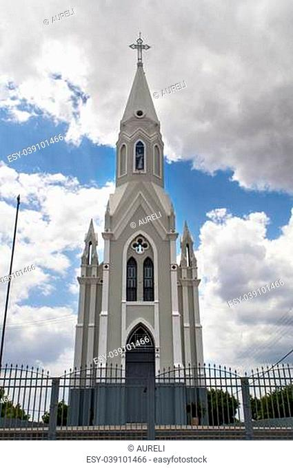 Church of Christ the King in Caninde, interior of Ceara, northeast Brazil