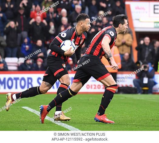 2019 EPL Premier League Football Bournemouth v Newcastle Utd Mar 16th. 16th March 2019, Vitality Stadium, Bournemouth, England; EPL Premier League football