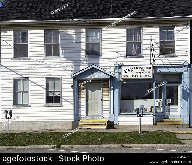 locksmith shop, Smith's Falls, Ontario, Canada