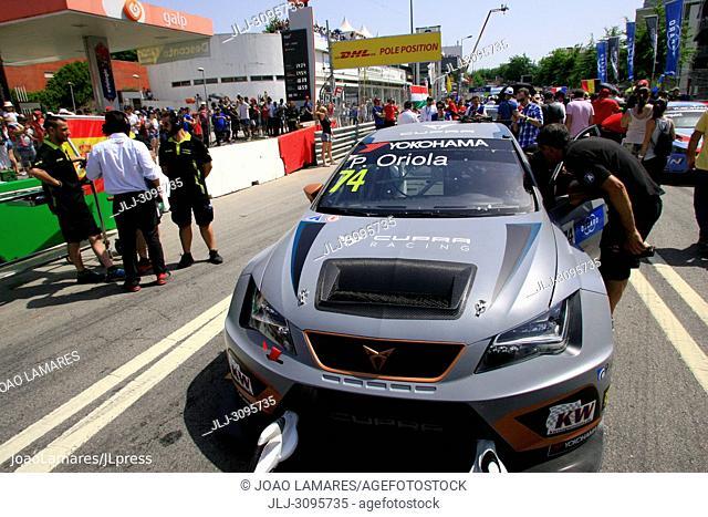 P. Oriola, Cupra TCR #74, WTCR Race of Portugal, Vila Real 23-25 de June 2018