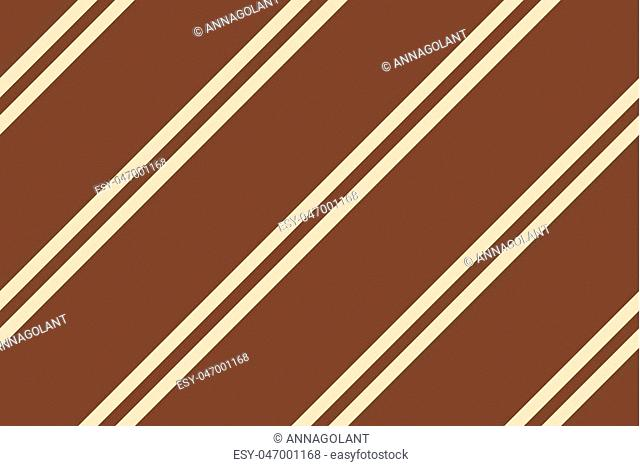 Seamless pattern with diagonal lines. Traditional background for print on fabric, textile, surface, gift wrapping. Brown, beige, pink color