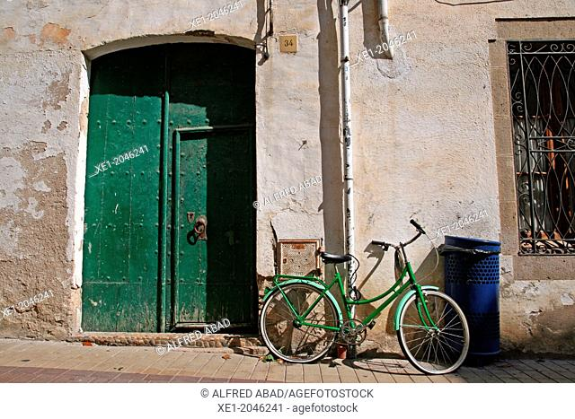 Bicycle, Tossa de Mar, Catalonia, Spain