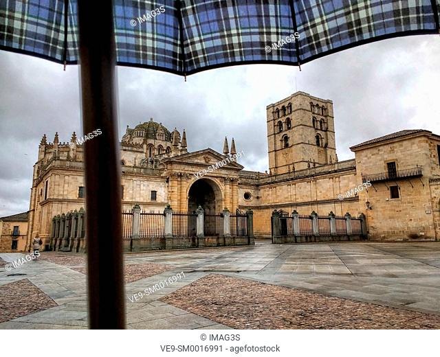Zamora cathedral, Zamora, Castile-Leon, Spain