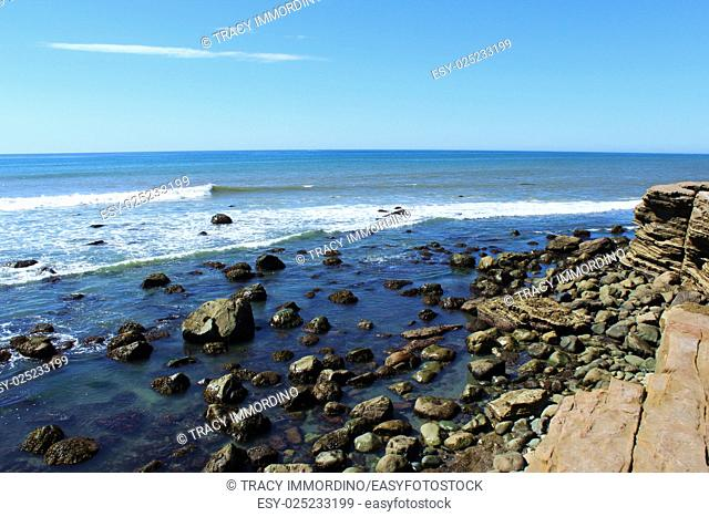 The Rocky Intertidal Zone at Point Loma, in San Diego, California, USA