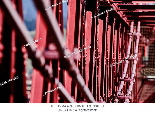 Puente de Bizcaya (Transporter Bridge), Portugalete, Biscay, Basque Country, Euskadi, Spain, Europe
