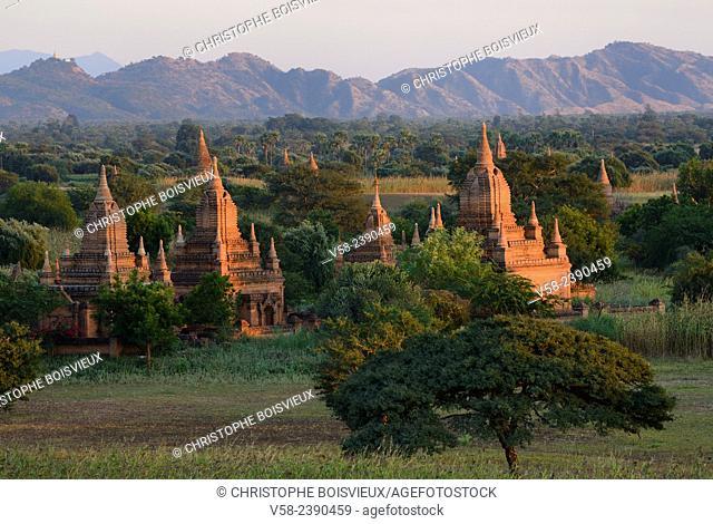 Myanmar, Bagan, Surroundings of Thabeik Hmauk pagoda