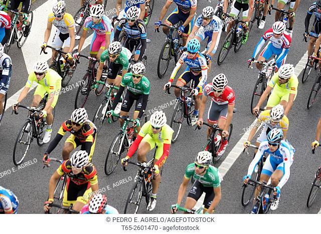 XIV Volta ciclista a Galicia: first stage. Lugo, 18/09/2015