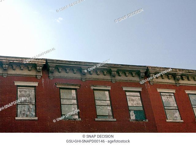 Trompe l'oeil Windows, Williamsburg, Brooklyn, New York, USA