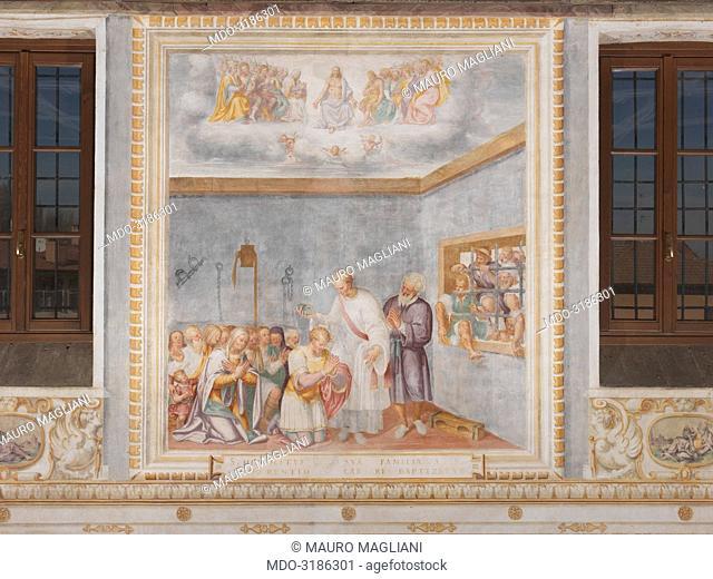 Oratorio di Sant'Ippolito, by Aurelio and Giovan Pietro Luini, 1578, 16th Century, fresco