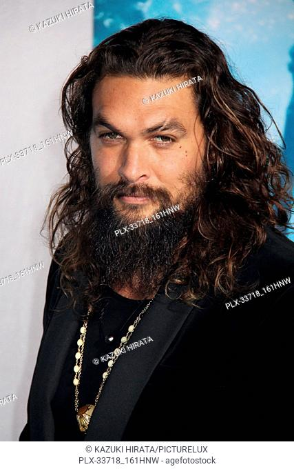 """Jason Momoa 12/12/2018 """"""""Aquaman"""""""" Premiere held at the TCL Chinese Theatre in Hollywood, CA Photo by Kazuki Hirata / HNW / PictureLux"""