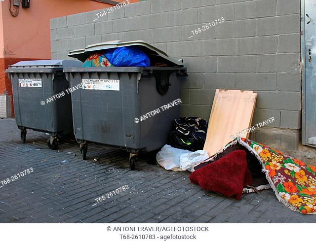 Waste, Lleida, Spain