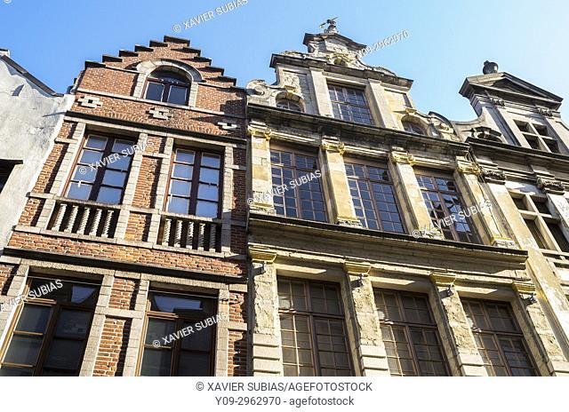 Houses, Brussels, Belgium