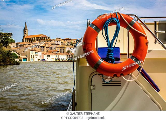 THE GRAND BASSIN OF CASTELNAUDARY, (11) AUDE, MIDI PYRENEES LANGUEDOC-ROUSSILLON