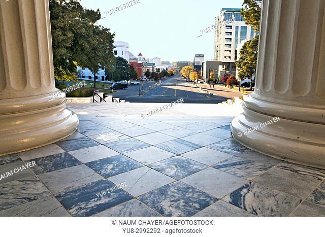 View from Montgomery City Hall, , Alabama, USA