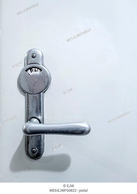 Bathroom doorknob