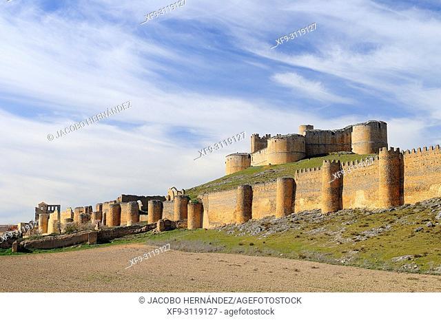 Castle of Berlanga de Duero. Soria province. Castilla y Leon. Spain