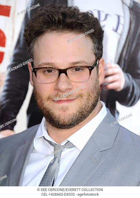 Seth Rogen at arrivals for NEIGHBORS Premiere, The Regency Village Theatre, Los Angeles, CA April 28, 2014. Photo By: Dee Cercone/Everett Collection