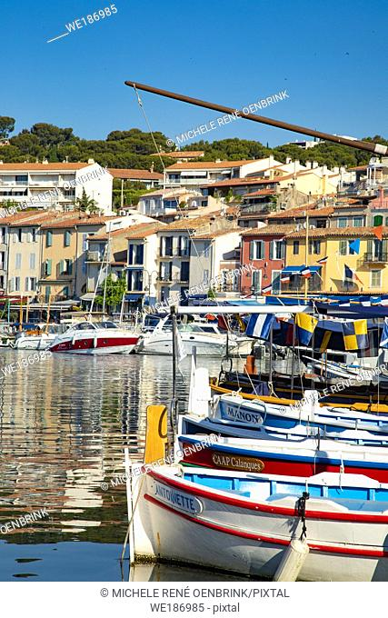 Cassis a Mediterranean fishing port in Southern France