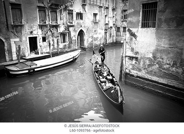 Gondola in Venice, Veneto, Italy